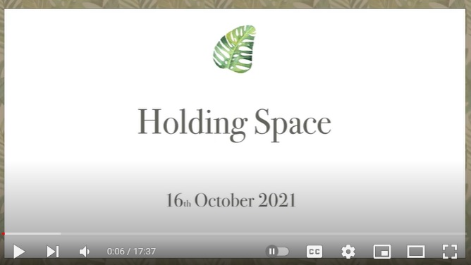 holding space image video